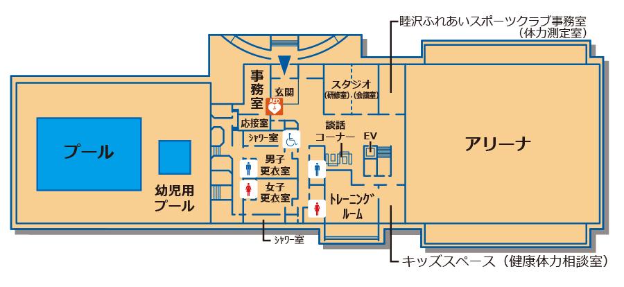 平面図:1F